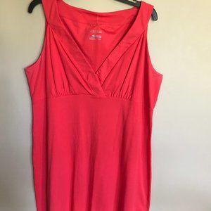 Like New Columbia Omni-wick Deep Coral Dress